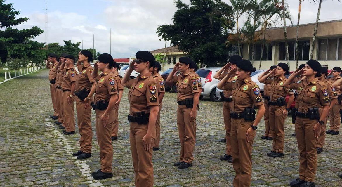 Policiais Militares são homenageadas no 9.º Batalhão