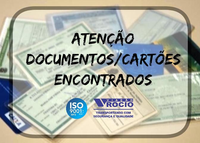 ACHADOS E PERDIDOS ATUALIZADOS EM 14/08/2018