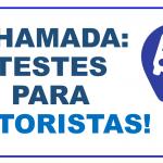 TESTES EM 13/06/2019!